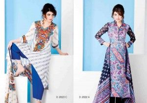 Sitara Textile Cotton Queen Lawn 2014 for Women Vol 2 19 300x211 Sitara Textile Cotton Queen Lawn 2014 for Women Vol 2