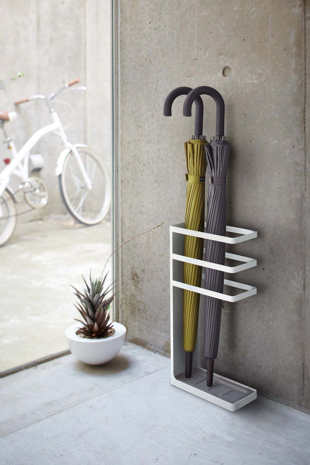 Geometric Umbrella Stand | Steel