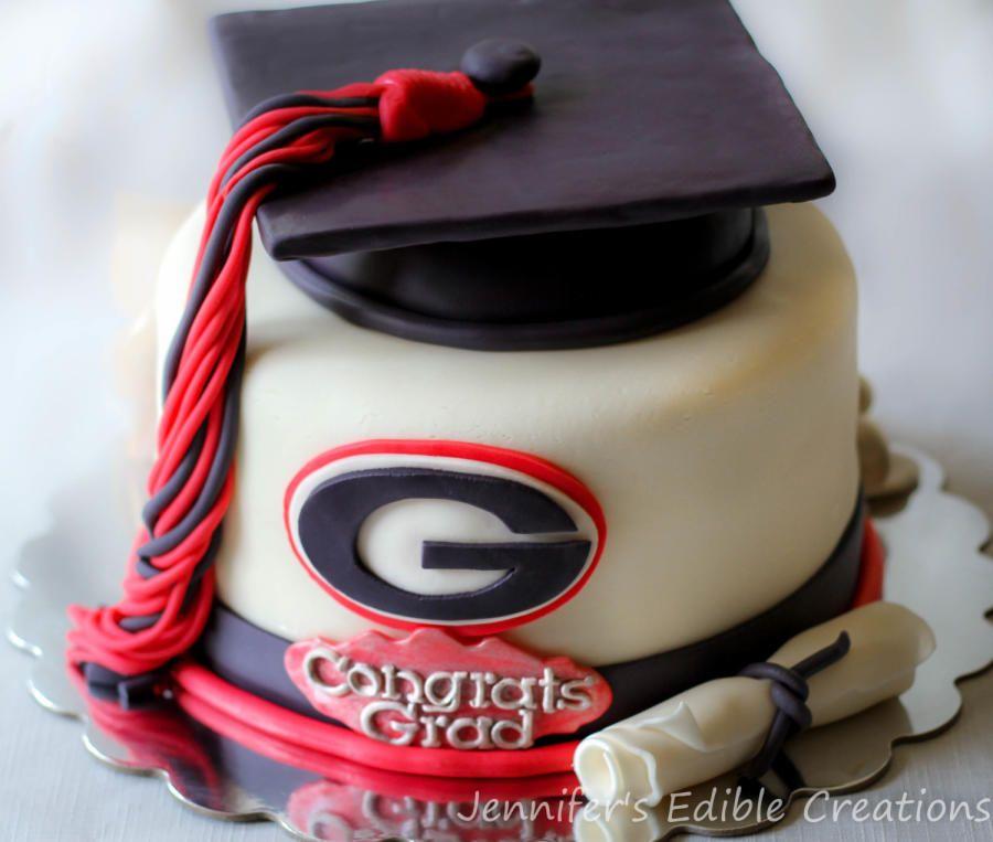 Cake Decorations Georgia Edible Bulldog