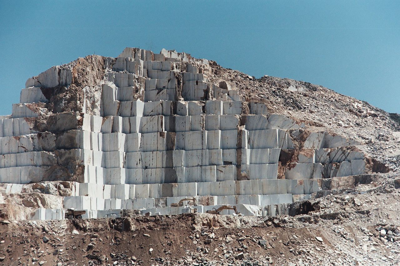 List Of Types Of Marble Marble Naxos Greece