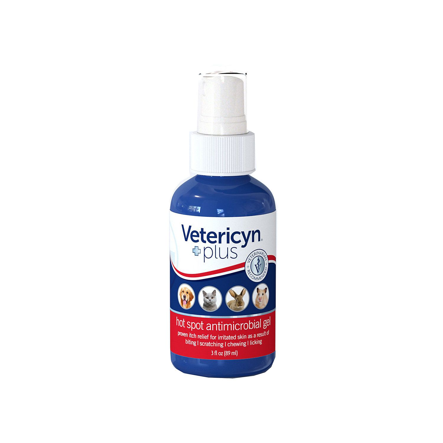 Vetericyn Plus Hot Spot Antimicrobial Gel for Dogs, 3 fl