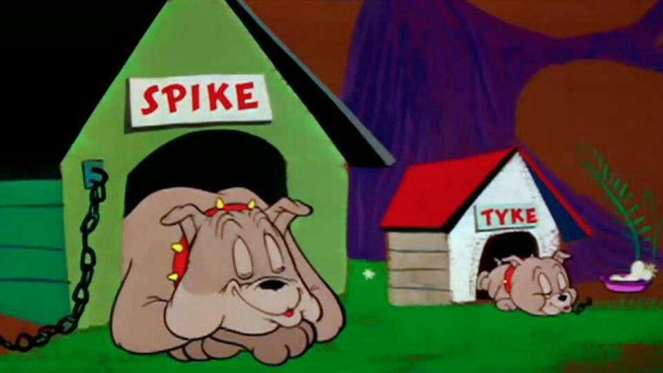 Spike And Tyke 70s 80s Cartoons Tom Jerry Cartoon Animals