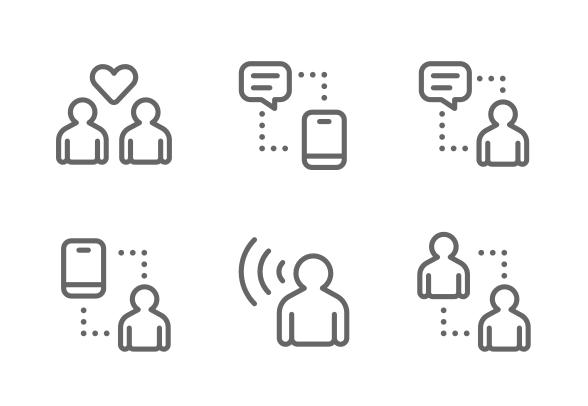 Communication Icons By Nanmulti Sanhawan Communication Icon Icon Communication