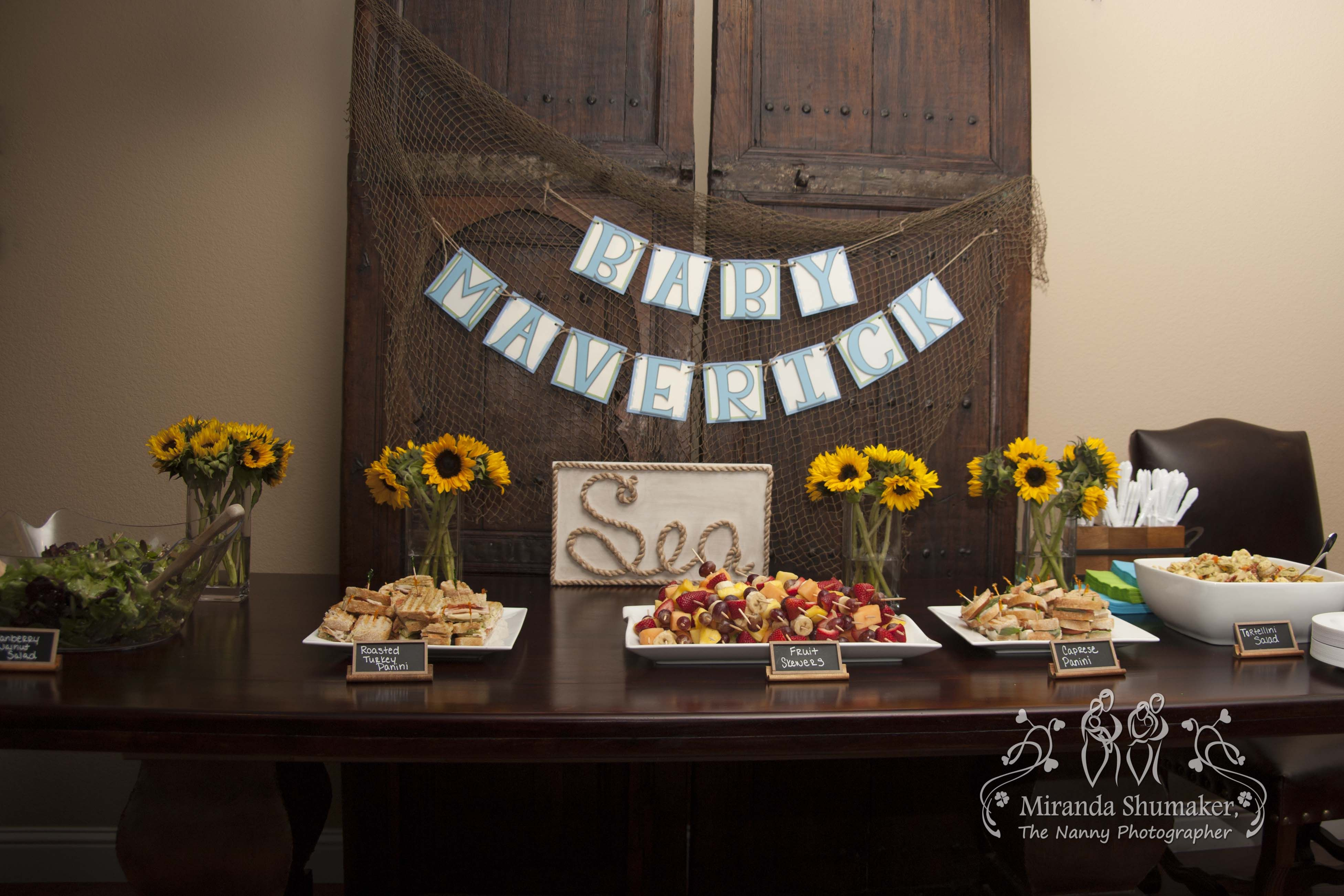 Loved This Beach Themed Baby Shower. #baby #babyshower #beach Theme Photo By