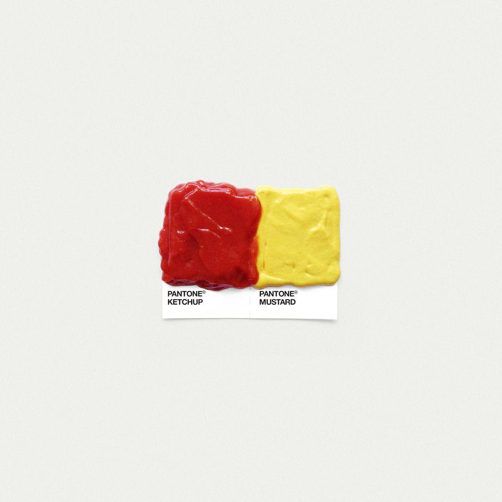 Image Of Ketchup Mustard Pantone Food Art Food Pairings