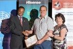 Riaan Bosch won a UNEP SEED Intiative award for his Why Honey? project http://www.visitmosselbay.co.za/media-releases/un-award-for-mossel-bay-honey-project/