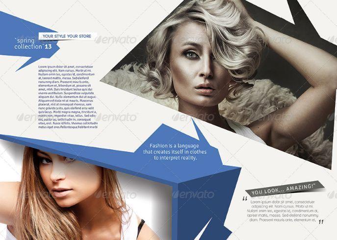 fashion promotional brochure template 25 fashion brochure