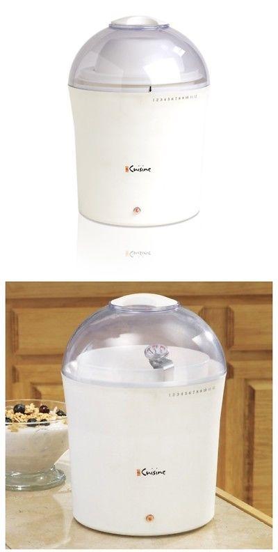 Yogurt Makers 122933 Euro Cuisine Electric Maker 2 Quart Capacity