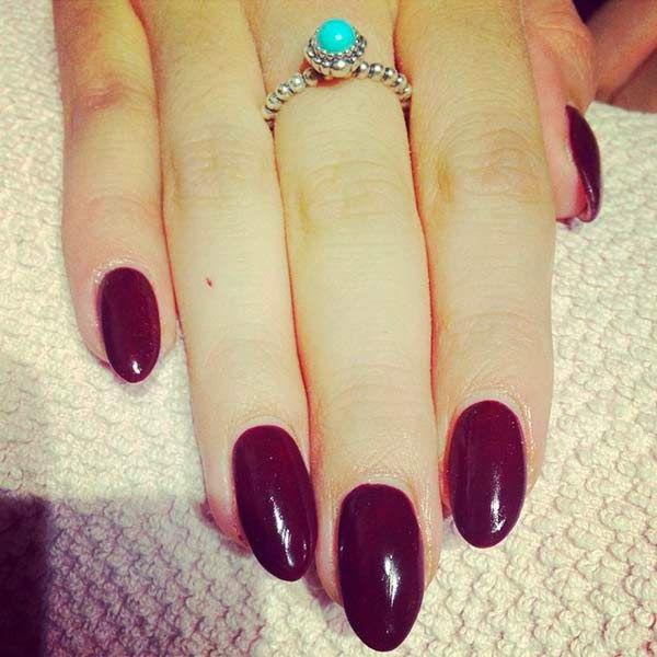Elegant nails gold purple plaid Trend French munkar 1b372__Winter-Nail-A