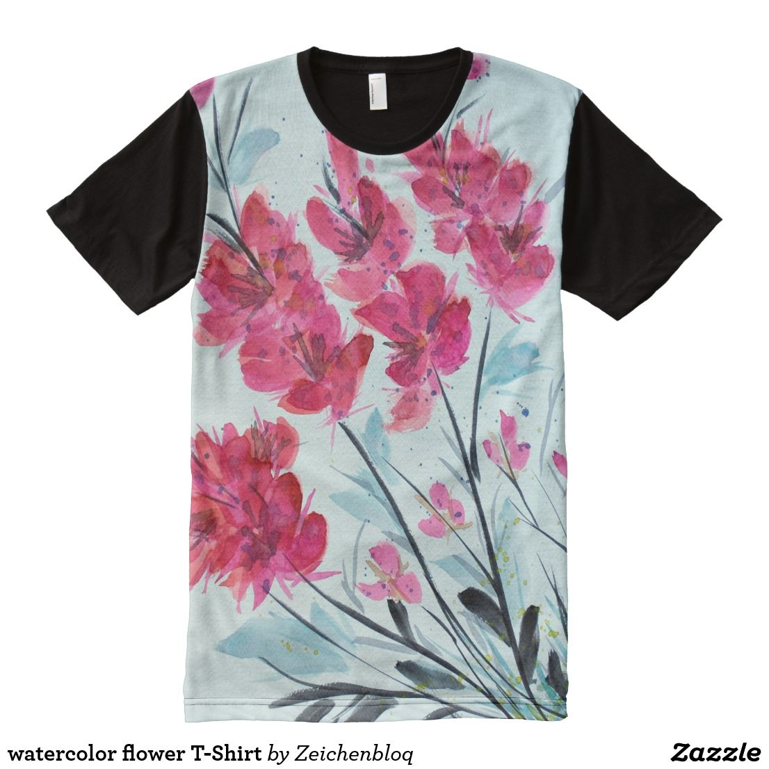 Watercolor Flower T Shirt Shirt Designs Shirts T Shirt