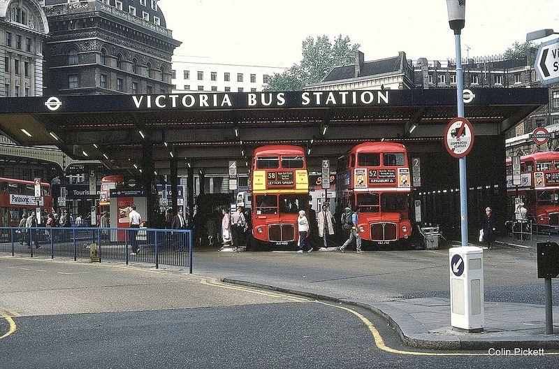 Victoria Bus Station 1986 London Bus Bus Station London Transport