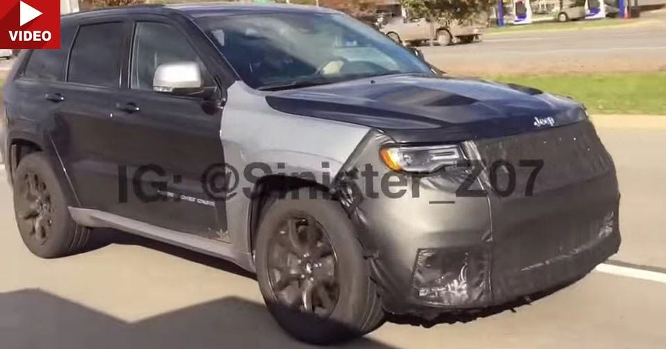 Does This Jeep Grand Cherokee Tester Sound Like A Hellcat Powered