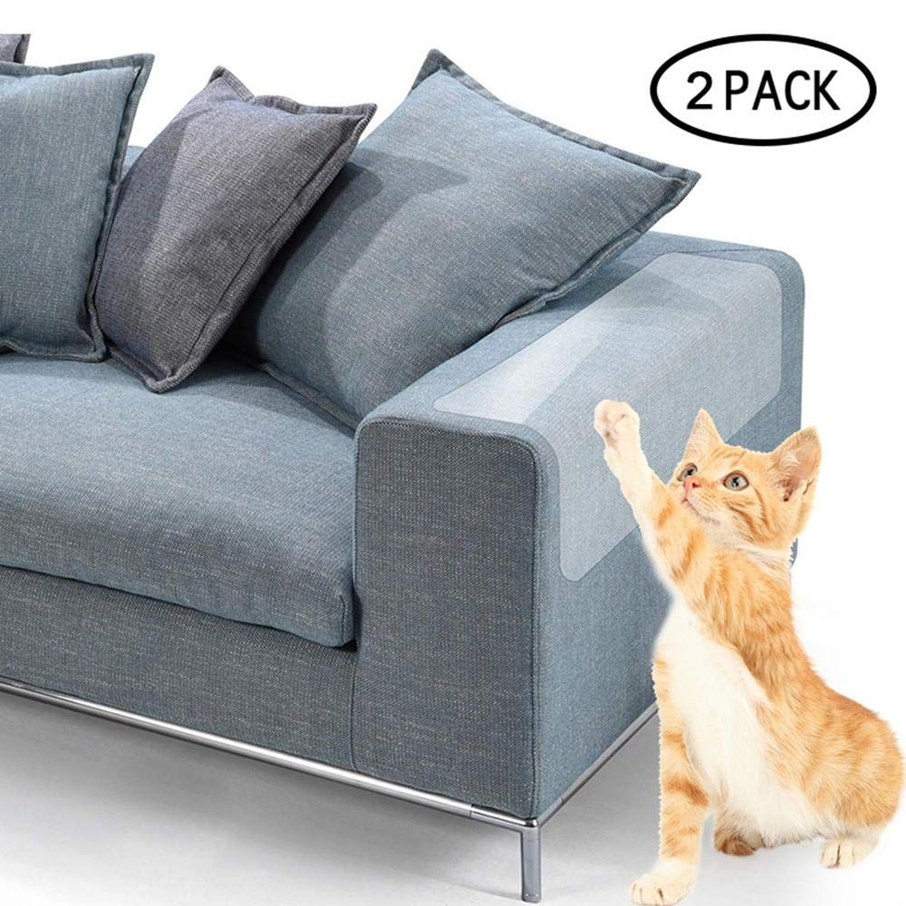 Plastic Recliner Armchair Cover For Pets Cat Scratching Protector Clawing Vinyl