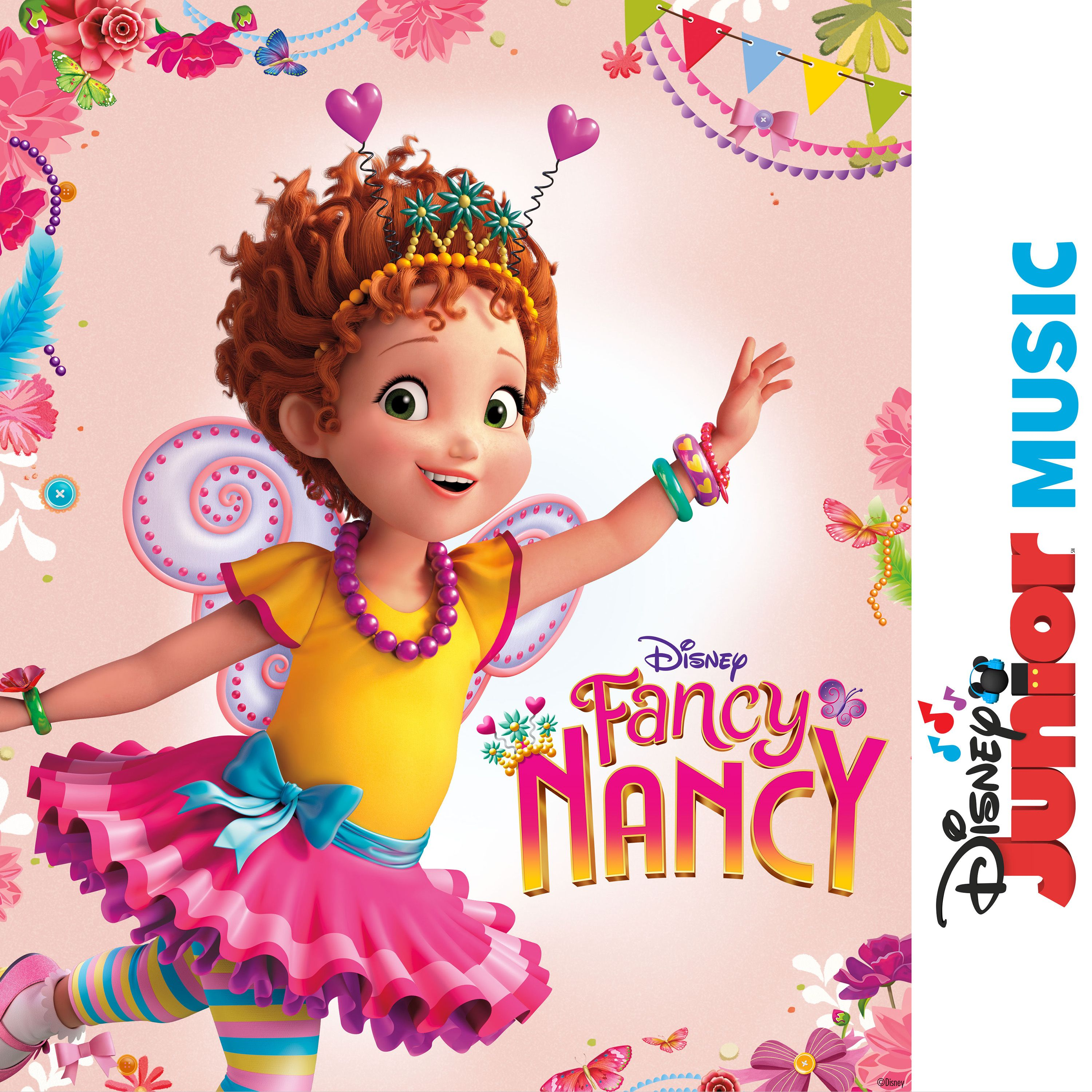 medium resolution of the fancy nancy soundtrack is now available listen to all the music from the new disney junior show here