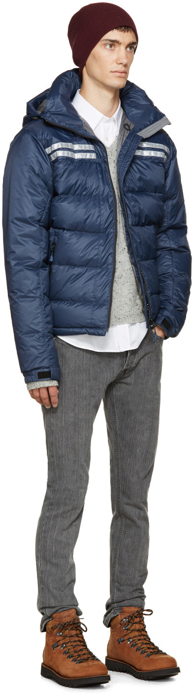 Canada Goose Blue Down Summit Jacket Trendy Winter Fashion Edgy Fashion Chic Trendy Fashion Outfits