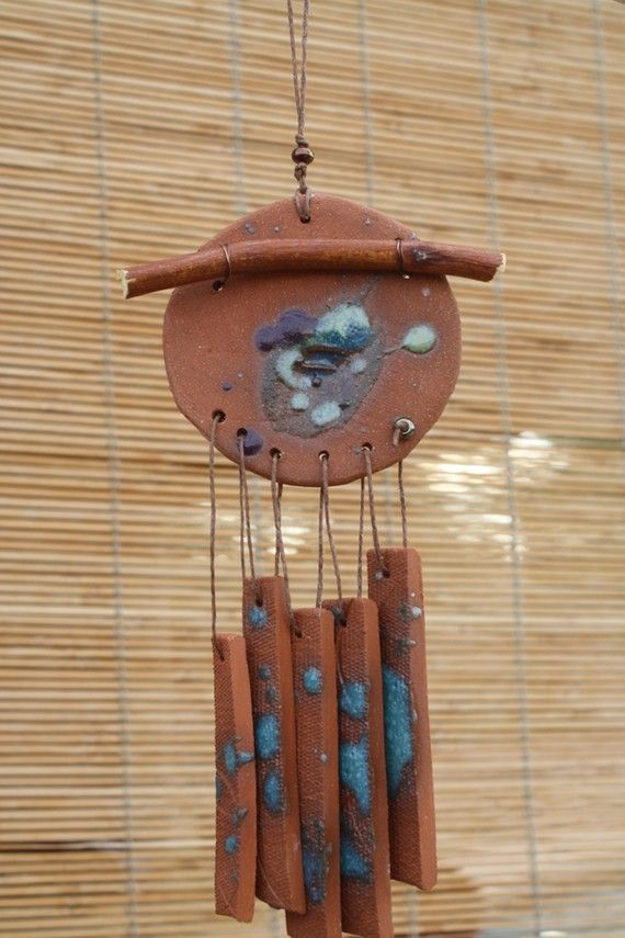Another native clay wind chime pottery for Wind chime design ideas