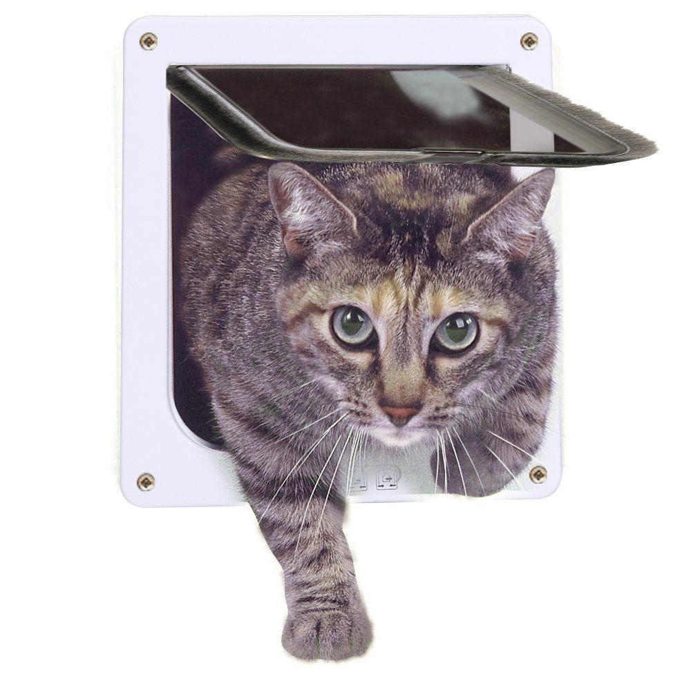 MOOST Cat Door 4 Way Locking Pet Door For Interior Doors Exterior Doors     Check Out The Image By Visiting The Link. (This Is An Affiliate Link And I  ...