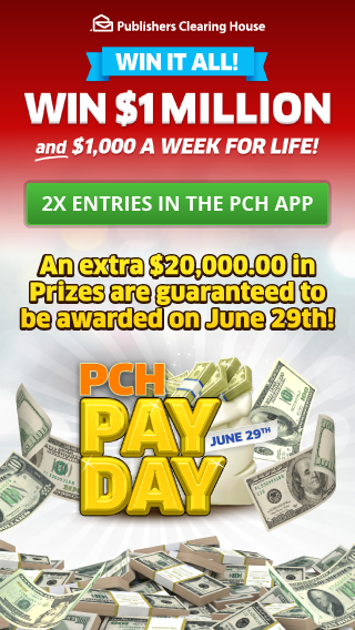 Free Online Sweepstakes & Contests | PCH com | Lucky in 2019