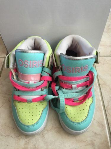 d7137c9bbf5ffe OSIRIS-shoes-sneakers-size-5-NYC-83-slim-girls