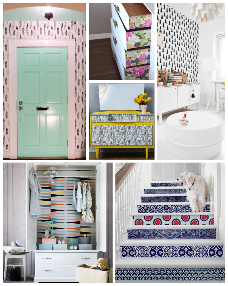 Pop Of Color Wallpaper Ideas