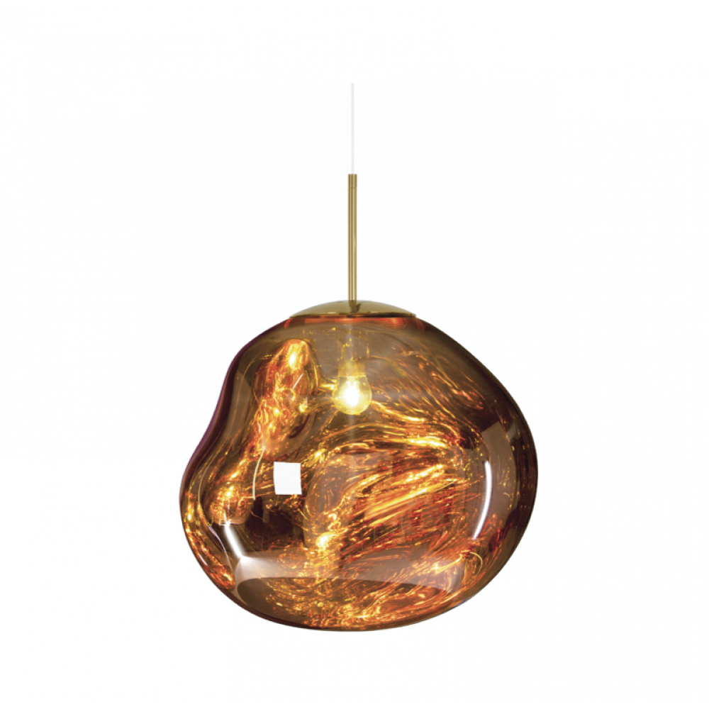 Melt Pendant Gold By Tom Dixon Copper Pendant Lights Mini Pendant Lights Metal Pendant Light