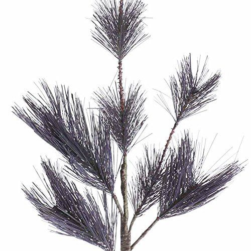 "awesome Group of 4 Artificial Purple Pine Needle Sprays with Sprakling Tips for Winter Weddings, Events -Group of 4 Artificial Purple Pine Needle Sprays with Sprakling Tips for Winter Weddings, Events Each spray measures: 24"" high and is 6.5"" wide approximately Perfect for accenting winter weding centerpieces and table decor -http://weddingdressesusa.com/product/group-of-4-artificial-purple-pine-needle-sprays-with-sprakling-tips-for-winter-weddings-events/"