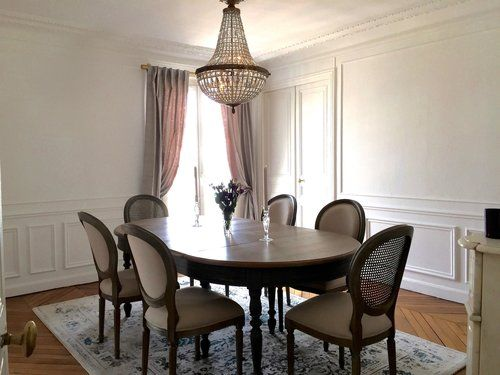Parisian Dining Room By Lichelle Silvestry Interiors.