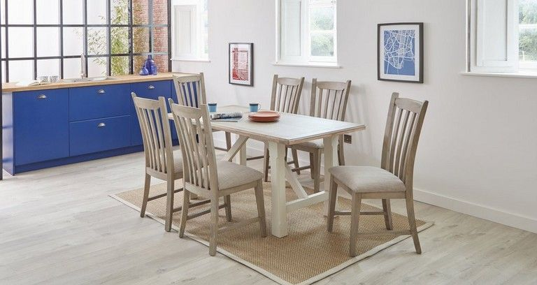 Hardwick Fixed Top Dining Table Set Of 4 Dining Chairs Dfs