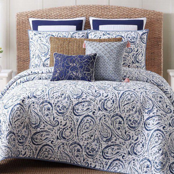 Janiyah Paisley Quilt Set Comforter Sets Paisley Duvet Paisley