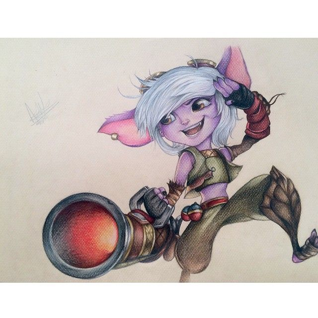 Tristana The yordle gunner! Ta da!