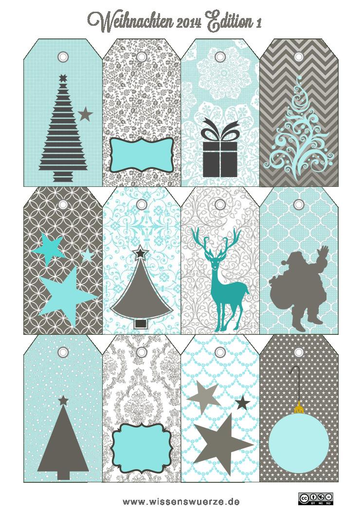 Geschenkanhänger | Weihnachten | Pinterest | Geschenkanhänger, Monat ...