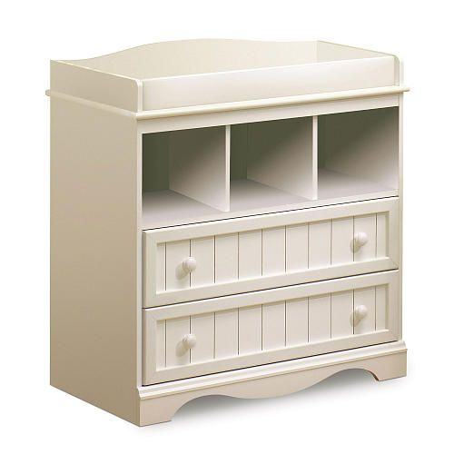 South Shore Savannah Changing Table Pure White South