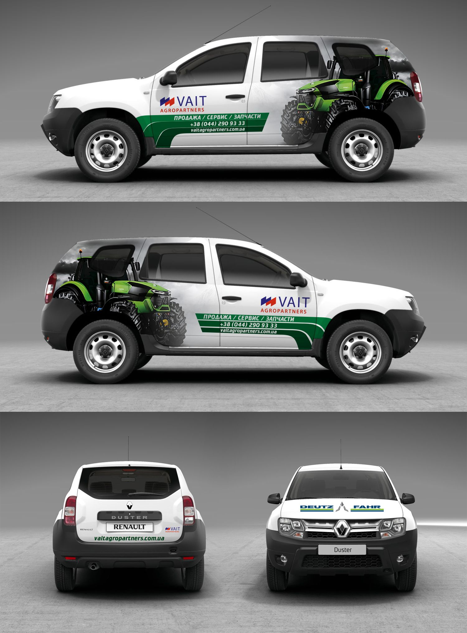 Mock Up Vait Agropartners Renault Duster Renault Duster Car Wrap Design Car Wrap [ 2034 x 1500 Pixel ]