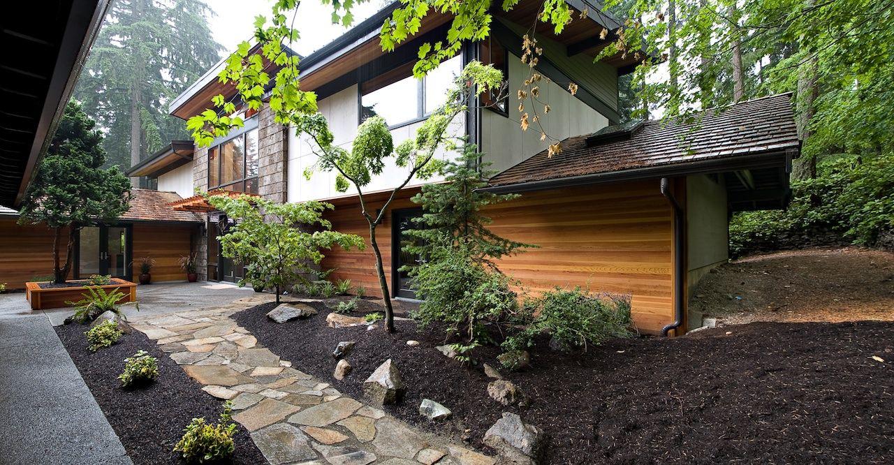 Natur hausarchitektur moderner klassiker das moderne gartenwege moderne häuser modernes design äußere waldhaus