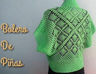 Delicadezas en crochet Gabriela: Bolero