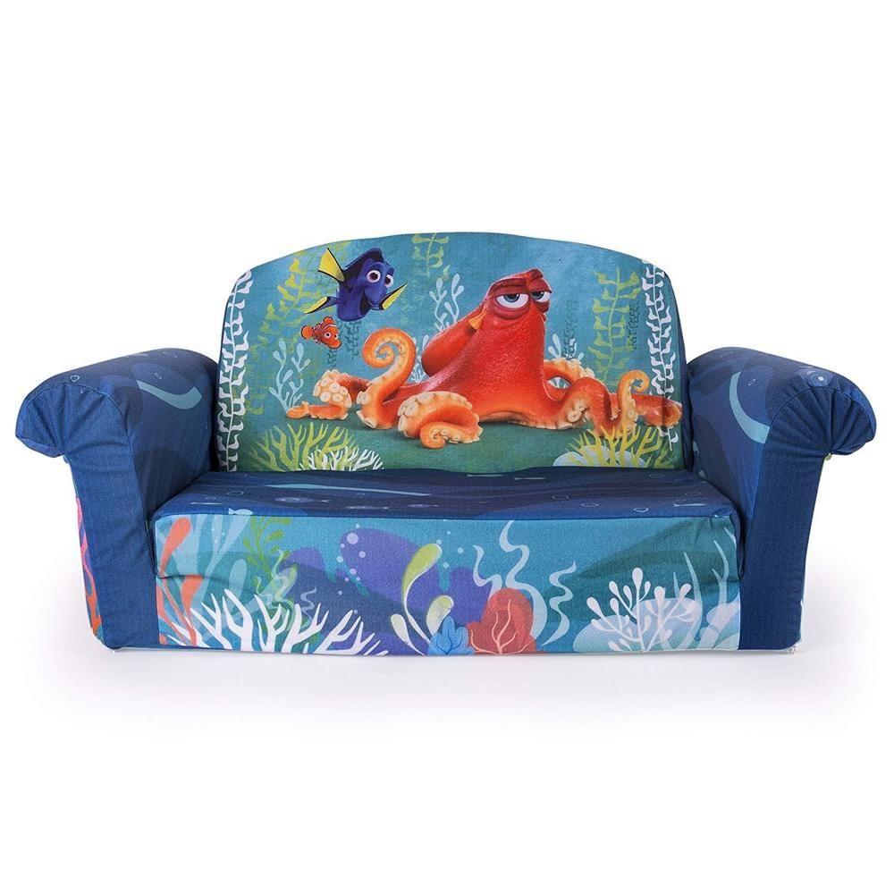Marshmallow Furniture Children S 2 In 1 Flip Open Foam Sofa