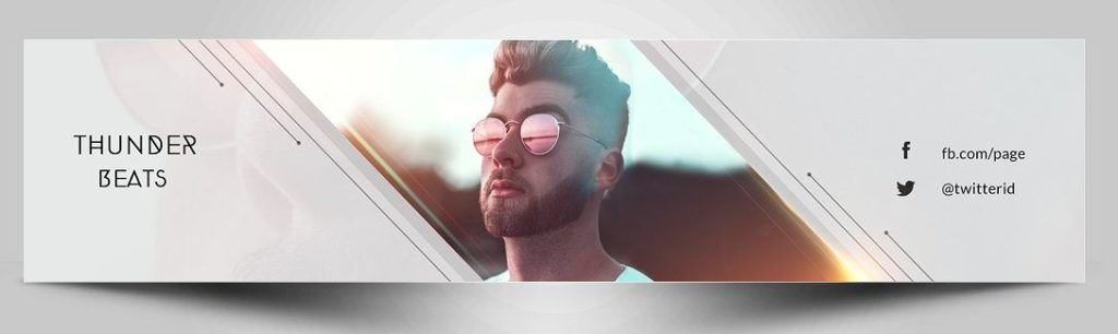 40 Youtube Banner Template Psd For Channel Art Texty Cafe Youtube Banner Template Youtube Banners Psd Template Free
