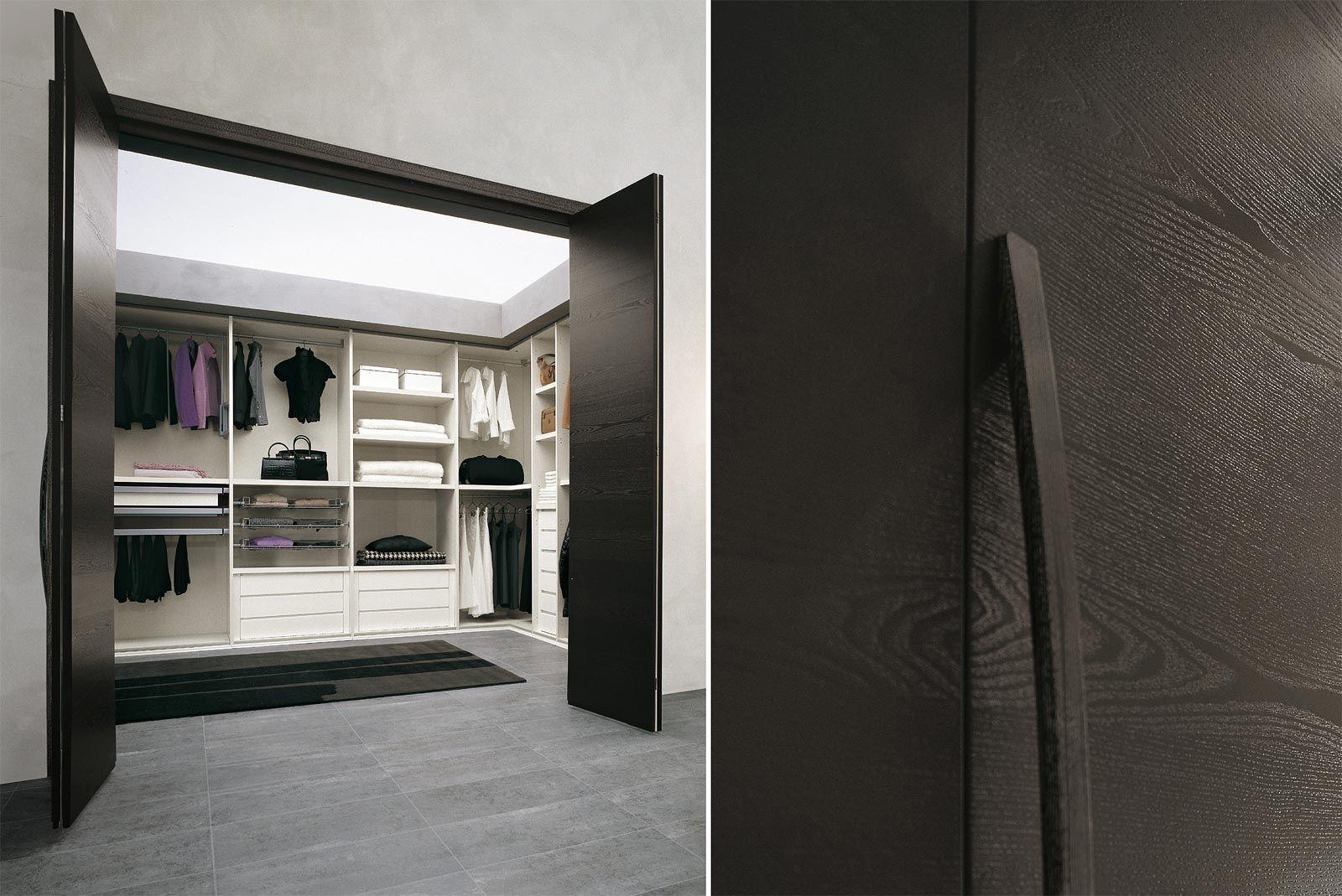 camere da letto moderne cabina armadio - cenedese | walk-in closet ... - Design Moderno Cabina Armadio