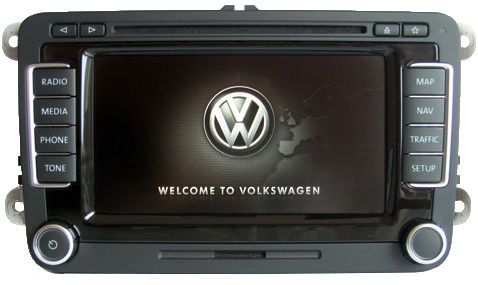 Vw Rns 510 Version H C Sat Nav Led Touch Screen Golf Passat Cc Mk6