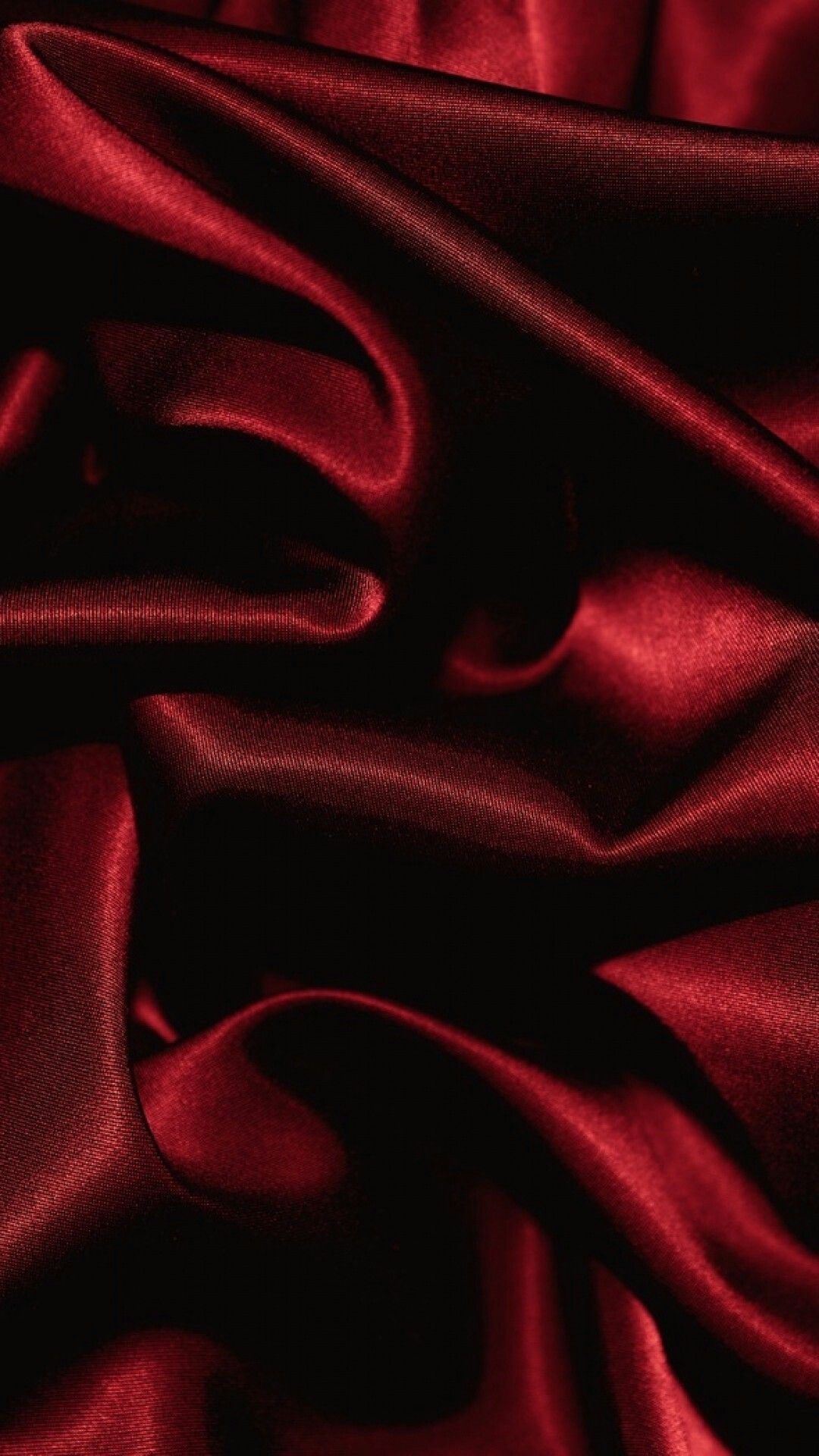 Blood red fabric Red and black background, Maroon