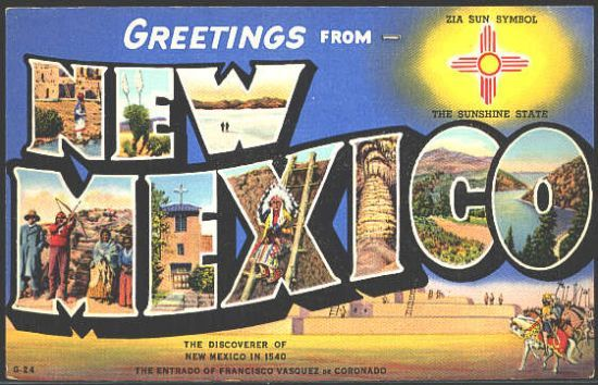 Get a whole bunch of Oklahoma Postcards and have everyone fill them out and we will mail them?