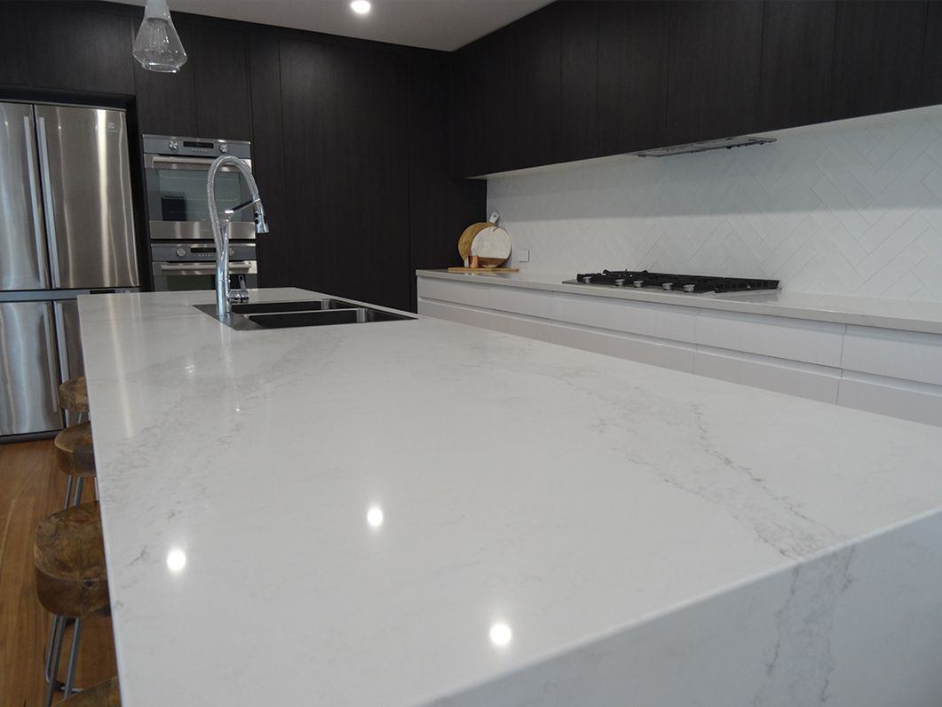0 5131 calacatta nuvo elite kitchens bars newcastle for Kitchen designs newcastle nsw