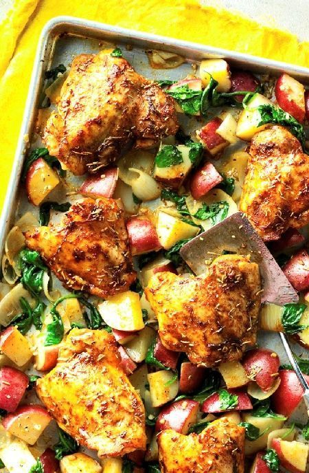 Pin By Suzanne Ganoung On Recipies Tasty Chicken Thigh
