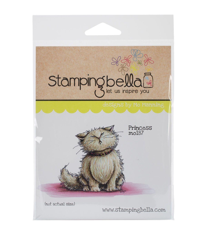 Stamping Bella Princess Cling Rubber Stamp