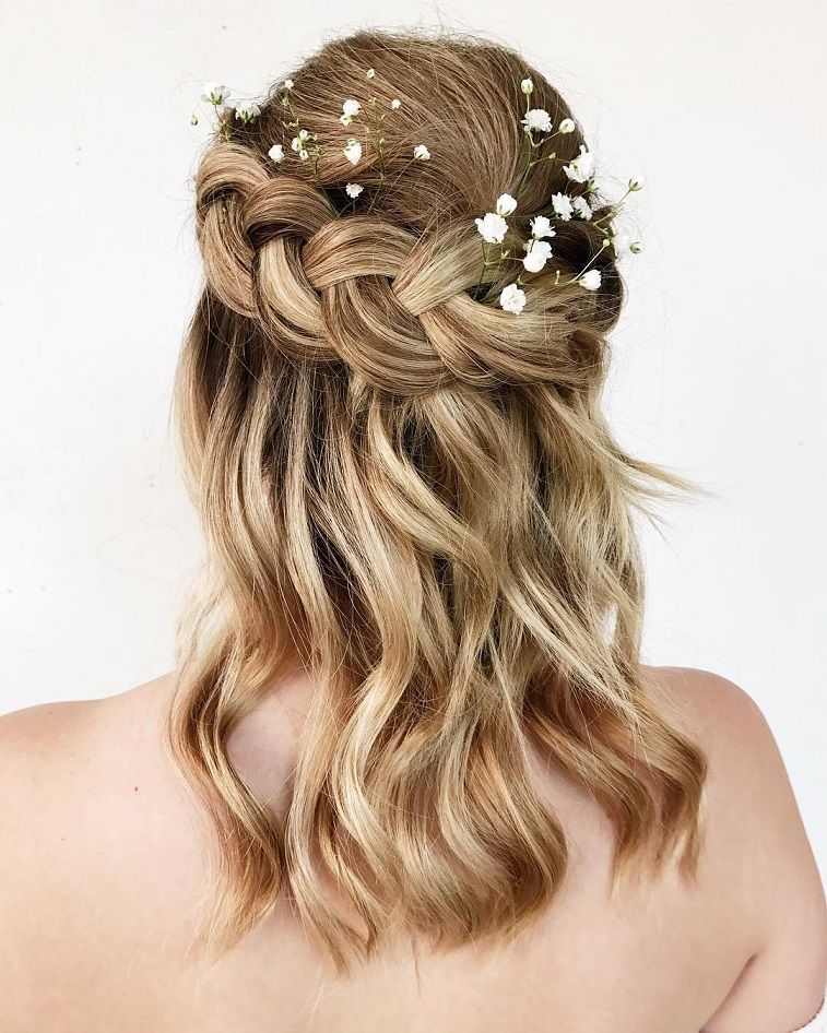 Gorgeous ways to wear your hair down for your wedding junglespirit