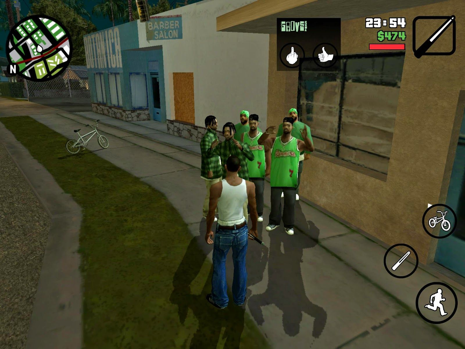 gta san andreas v1.08 android apk + data hack mod download