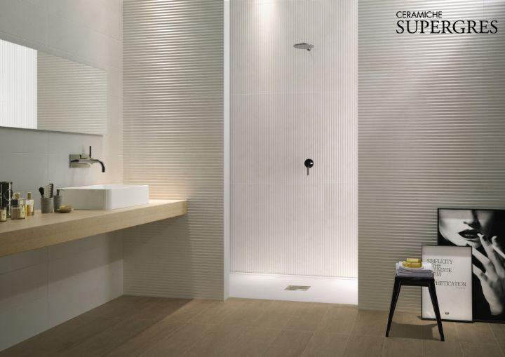 Bagno rivestimenti gres 3d cerca con google bagni - Piastrelle bagno bianche ...