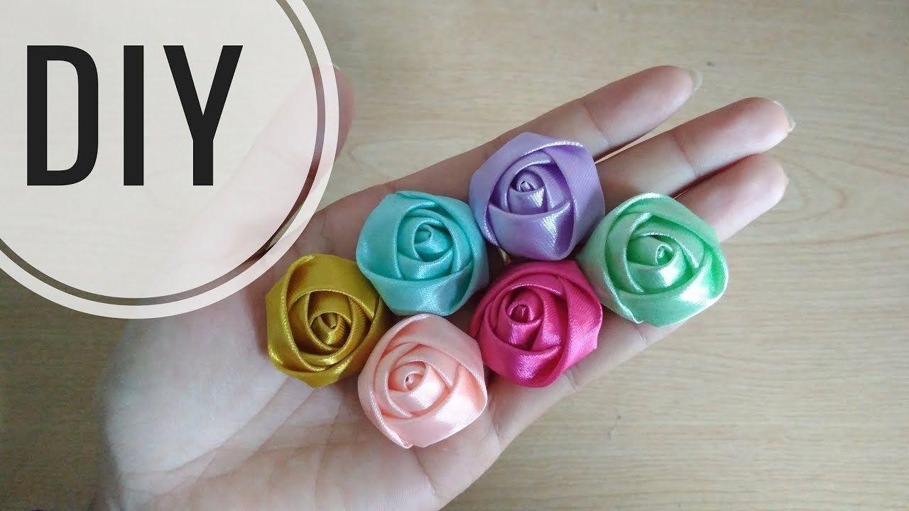 DIY    Cara Membuat Mawar Kuncup Model 20    Rosebudd Tutorial ...