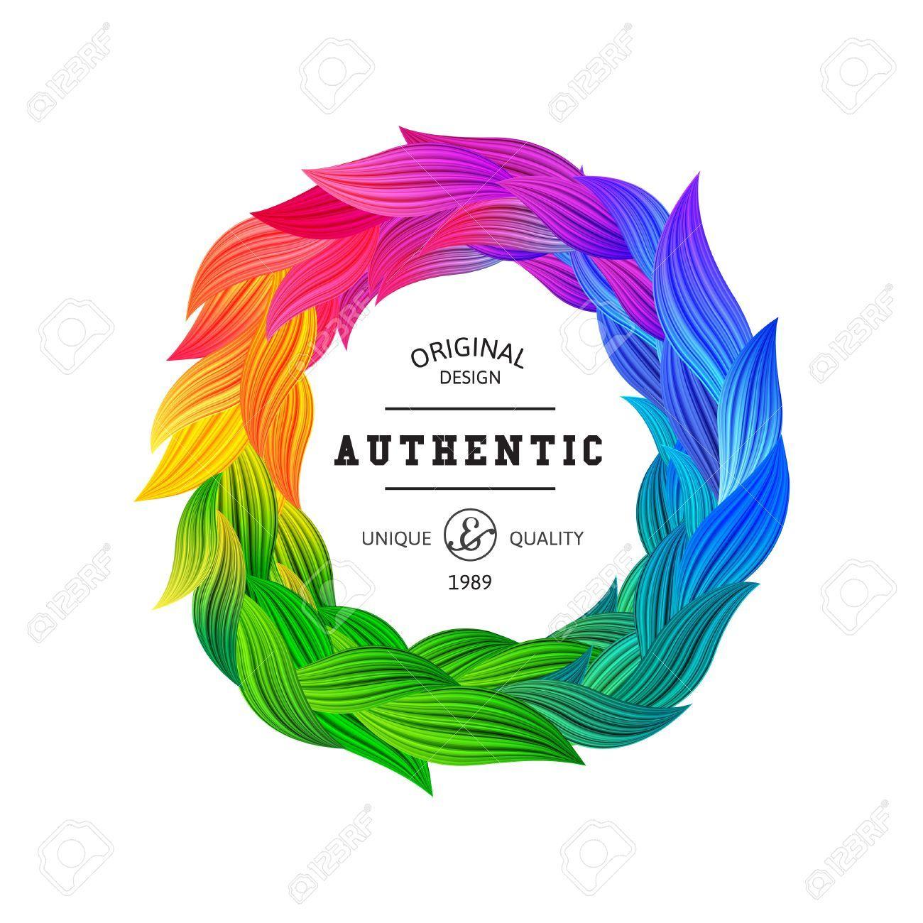 Colorful Circle Logo Design Elements & Ideas