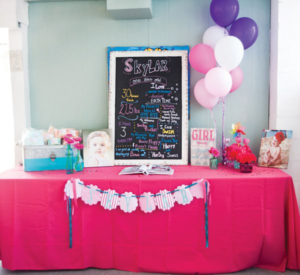 . A FABULOUS FLAMINGO FIRST BIRTHDAY POOL PARTY